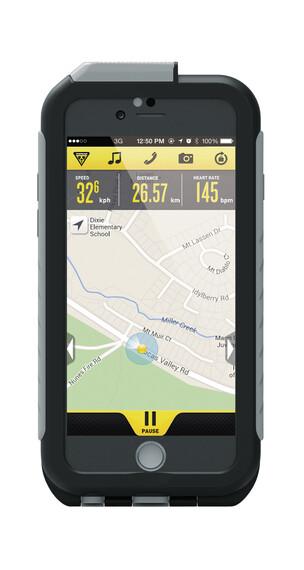 Topeak Weatherproof RideCase för iPhone 6 utan fäste grå/svart